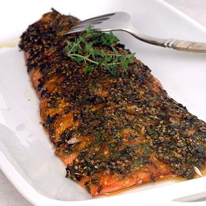 Salmon with Asian Flavours